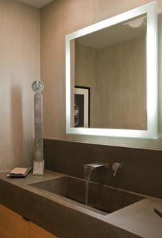 Northern California - contemporary - powder room - san francisco - John Stewart Designs