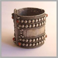 Bedouin bracelet purchased in Taif, Saudi Arabia in 1970