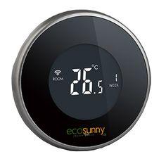 """Termostato """"intelligente"""" Wireless e GSM, nulla di più semplice, nulla di più comodo   #ecosunny #riscaldamento #irraggiamento #infrarossi"""