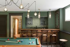Stunning craftsman home features rugged modern styling in Minnesota Home Bar Designs, Design Your Home, Double Island Kitchen, Cafe Window, Loft, Built In Bench, Level Homes, Parquet Flooring, Indoor Outdoor Living
