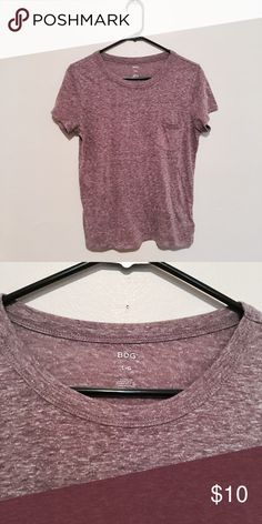 Urban outfitters mauve crewneck tee Urban outfitters / BDG / Size: large / Runs small and is a good fit for small or medium / Crewneck style short tee / Very casual and simple / In great condition Urban Outfitters Tops Tees - Short Sleeve