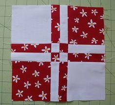 Aprenda mais um bloco em patchwork super fácil   Clubinho da Costura