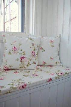 .Cosy Rosy Corner  Beautiful!  I'd like thicker cushions but over all it's lovely!