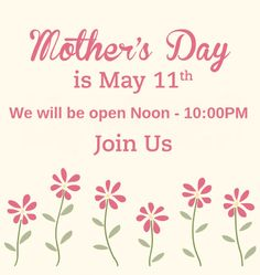 Make your Mother's Day reservation today! Usda Prime, Prime Beef, Beef Burgers, Make It Yourself, Day, How To Make
