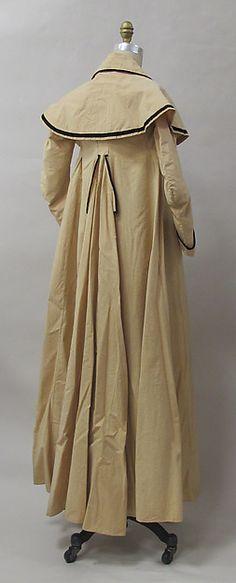 Coat | Date: ca. 1790 Culture: European Medium: cotton Dimensions: Length at CB: 59 in. (149.9 cm) Credit Line: Purchase, Friends of The Costume Institute Gifts, 2012