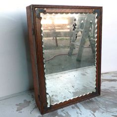 Vintage Medicine Cabinet now featured on Fab.