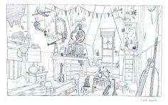 Artes de Stevie Lewis para o filme The Boss Baby, da DreamWorks | THECAB - The Concept Art Blog