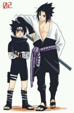 Small Sasuke-Big Sasuke! ^^
