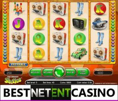 Play for free the Groovie Sixties video slot by Netent