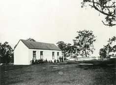 When Ebenezer Church was built in 1809 one half of the building was used as a schoolroom. Classes commenced for local children in 1810, and continued until 1874 when the school moved to state control. It was known as Portland Head Provisional School, but classes were still held in the church until the new school, Ebenezer Public School, was built in Coromandel Road in 1887. Ebenezer Church is recognised as the oldest existing school building in Australia. Beautiful Buildings, Beautiful Homes, Old Churches, School Building, History Teachers, The New School, Old Buildings, South Wales, Public School