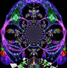 Moving Fractal Art - Bing images