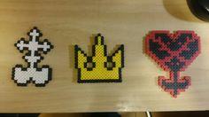Kingdom hearts hama bead perler pixelart