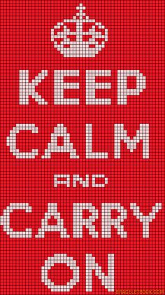 Alpha friendship bracelet pattern added by keep calm carry on british. Free Cross Stitch Charts, Cross Stitch Bookmarks, Cross Stitch Patterns, Perler Patterns, Loom Patterns, Beading Patterns, Cross Stitching, Cross Stitch Embroidery, Floral Embroidery