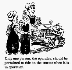 Yesterday's Tractors - Safety