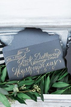 How to address a wedding invitation: http://www.stylemepretty.com/2015/01/27/how-to-address-a-wedding-invitation/