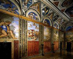 Italian Villas: Villa Farnesina, Roma, Italy