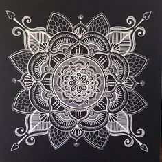 Nearly finished! Just a bit of cleaning up to do. 1m x 1m acrylic on canvas. For Sale! #sunnyandfine #scarboroughtwilightmarkets #mandala #hennaart #artforsale #customart