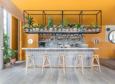 Treves & Hyde Restaurant & Bar in East London by Grzywinski+Pons | Yellowtrace