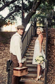 Inspiración vintage para una boda, post boda o lo que más os guste! http://www.unabodaoriginal.es /blog/y-comieron-perdices/bodas-diferentes/boda-inspiracion-vintage