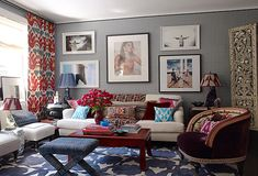 Mixing texture in a space is a great way to tell a global story.