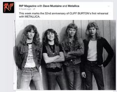 The best lime up that never recorded. Produced the best songs on Metallica's 1st & 2nd albums.