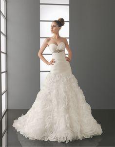 petite satin lace taffeta a line best wedding dresses | dresseslux.