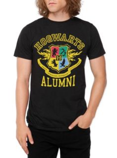 Harry Potter Hogwarts Alumni T-Shirt... I NEED this shirt!!