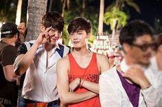 Lee Jong Suk & Kim Woo Bin - cute