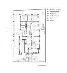 Oma koolhaas netherlands embassy germany berlin 2003 for Jordan built homes floor plans