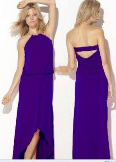 BCBG Hi-Low Ring Neck Gown in Blue [10119] - $178.99 : Bcbg Max Azria Outlet: cheap Bcbg Max Azria dresses sale  http://www.bcbgmaxazriaoutletdresses.com/bcbg-hilow-ring-neck-gown-in-blue-p-120.html