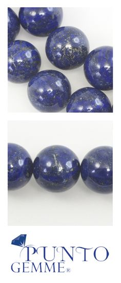 Round of lapis Lapis Lazuli, Easter Eggs, Gemstones, Fruit, Gems, Jewels, Minerals