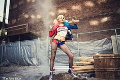 Andy Rae Cosplay as Harley Quinn from Suicide Squad: The Movie at Northwest Fan Fest  Photo by  The Will Box