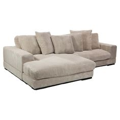 Plunge Sectional Sofa. Perfect for the movie room!!