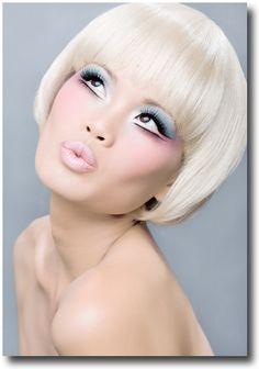 Makeup Inspiration: Cotton Candy