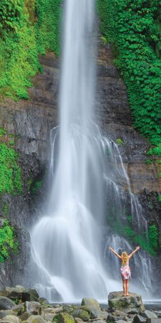 Gitgit Waterfall, Bali - by Jewels Lynch