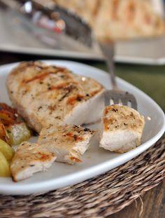 Mel's Kitchen Cafe | Lemon and Garlic Grilled Chicken