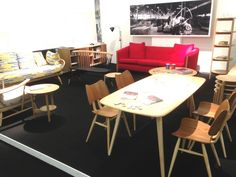 ercol stand at Superbrands 2013, part of the London Design Festival.