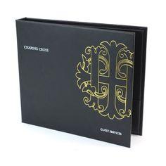 Vivella Guest Room Folders. The Smart Marketing Group - Formal menu covers. Black tie themed menu presentation products.