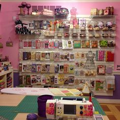 Wow, that is some sewing space!