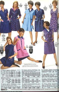 Nylons, Blouse Nylon, Staff Uniforms, Housecoat, Overalls, Shirt Dress, Summer Dresses, Film, Retro