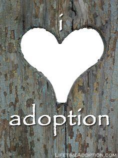 i <3 adoption!  Cute graphic!!