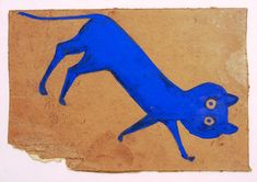 Bill Traylor self taught artists and outsider Artists would produce more than 1,200 drawings.