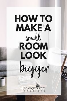 Top 30 [Easy] Tips to Make a Small Room Look Bigger 2017 - One common interior design challenge is how to make a small room look bigger. Small rooms are cosy and inviting if done right. Check out these 30 tips on how to make a small room appear larger. Home Design, Design Jobs, Interior Design Trends, Interior Design Kitchen, Interior Decorating Tips, Interior Design Boards, Ikea Interior, Bathroom Interior, Home Interior