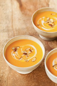 Carrot & Coconut Puree w/ Curried Almonds