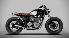 She's a beauty.... TRIUMPH BONNEVILLE BY DOWN & OUT