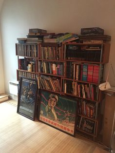 Bookshelf & posters