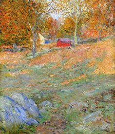 Ernest Lawson (1873 – 1939) Connecticut Landscape
