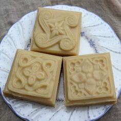 Goat milk soap with eucalyptus and peppermint by creationsbycorina