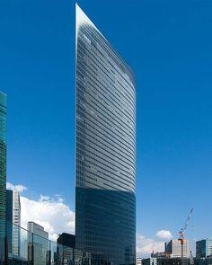 Dentsu Building in Tokyo Posted by Wael Moda