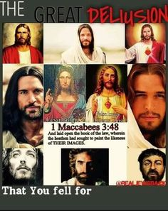 """The """"lie"""" they created for you to initiate white supremacy. This is Cesar Borgia NOT the Messiah. Now you know."""